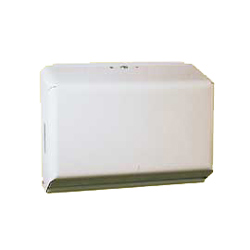 Half Size C-fold/Multifold Towel Dispenser - #C201-W