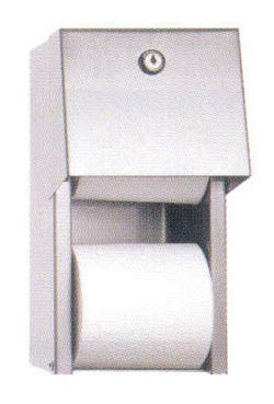 Dual Roll Toilet Tissue Dispenser - #DR-30